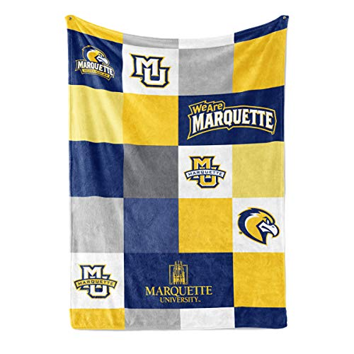 Official NCAA Marquette Golden Eagles - Fleece Blanket 30x40