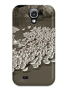YZDlMWy13131BSaiH Faddish Bird Invasion Beach Animal Bird Case Cover For Galaxy S4