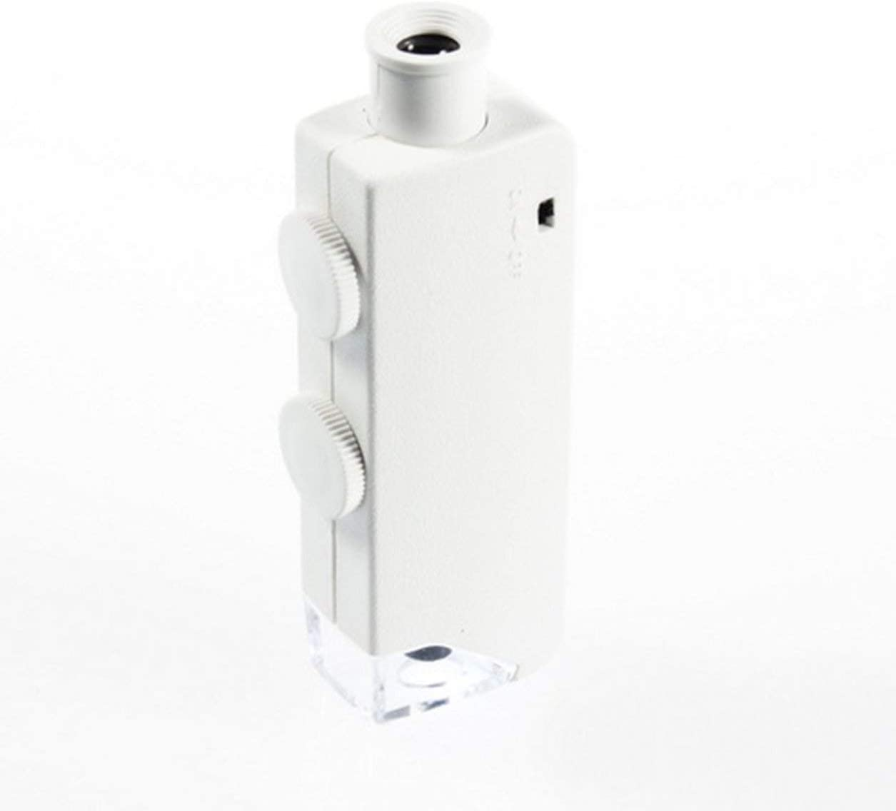 YXDS Microscopio Mini de Mano 160X-200X Ampliaci/ón Zoom len LED L/ámpara de luz iluminada Microscopio de Bolsillo Lupa Lupa