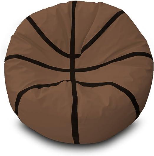 Puff Basketball Ø100cm (Marrón): Amazon.es: Hogar