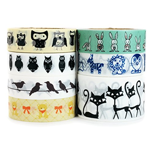 Crafty Rabbit Animal Washi Tape product image