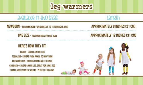 juDanzy solid white baby /& toddler boy and girl leg warmers