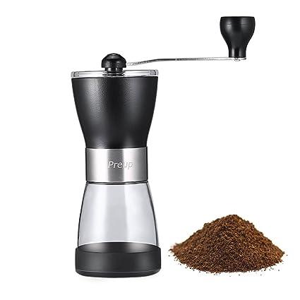 Molinillo de Café Manual , Mini Molino de Café Amoladora Portable del Acero Inoxidable,Molinillo