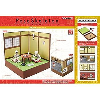 Pose Skeleton Japanese Style Set Re Ment