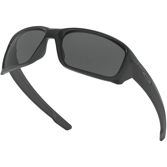 adb49c8922 Amazon.com  Oakley Men s Straightlink Non-Polarized Iridium Rectangular  Sunglasses