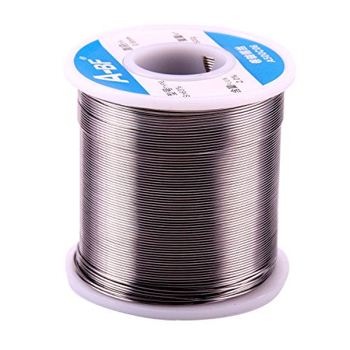 (A-BF 63-37 Tin Lead Rosin Core Solder Wire 1.1lbs(500g) for Welding Electrical Soldering DIY Repair Working 0.0236 Inches(0.6mm))