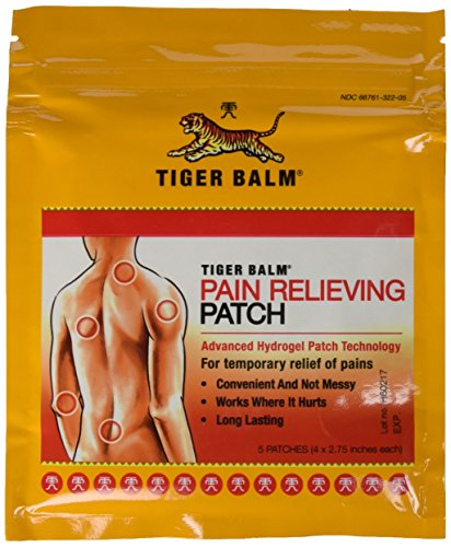 Ointment Patch Tiger Balm Pk product image