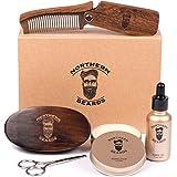 Beard Kit | Beard Oil and Beard Balm | Beard Grooming & Trimming Kit Beard Brush Beard Comb and Scissors included by Northern Beards For Sale
