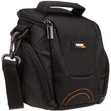 AmazonBasics Fixed Zoom/Compact System Camera Case (Gray Interior)