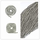 Glory Qin Stainless 3 Feet Steel Ball Chains