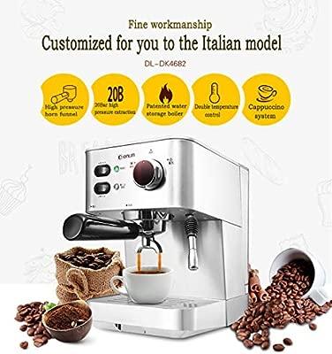JHSHENGSHI Cafetera,Dispensador de café con Leche, café ...