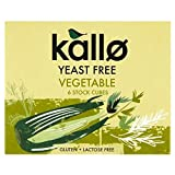 Kallo Yeast Free Vegetable Stock Cubes (6x11g) - Pack of 6