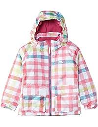 girls Trespass Girls Marnie Waterproof Padded Check Patterned Ski Jacket