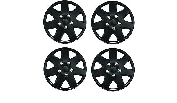 Tapacubos negros de 33 cm para Jaguar XF todos los años: Amazon.es: Coche y moto