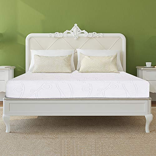 Granrest 10 Inch Gel Infused Pocket Spring Hybrid Mattress Queen