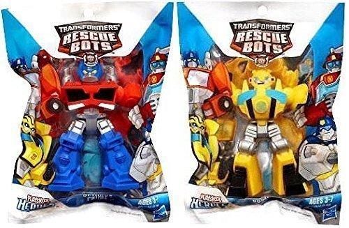 Optimus Prime Bumble Bee (Transformers Rescue Bots Optimus Prime & Bumblebee)