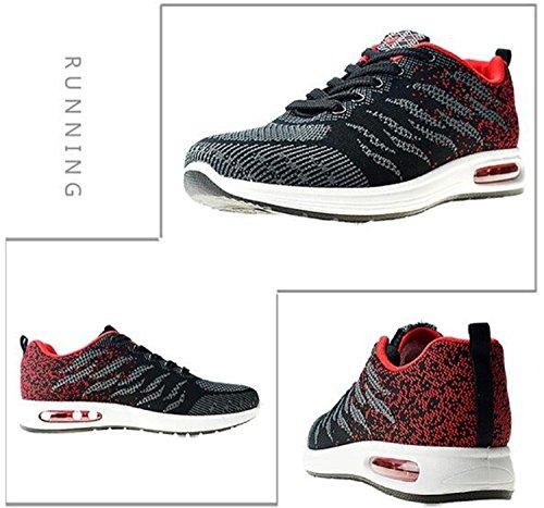 Rouge Basket Tqgold Running Homme Sneakers Mode Femme De Noir Sport Fitness Chaussure Z 4C7qRxC