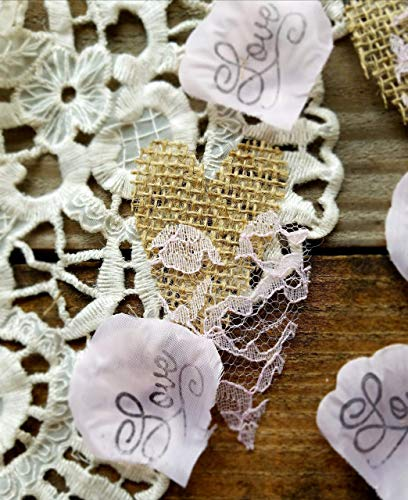 (Burlap And Lace Decorations, Wedding Decorations Rustic Theme, Burlap Table)