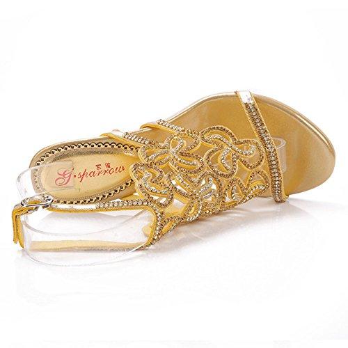 Sandales Chaussures Hauts Diamond Taille à de Peau Talons 10 Round Mouton de des en avec pour Haut Femmes Gamme xie Nouveau Fa5zqz