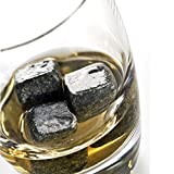 Whiskey Stones, Set of 10 Whisky Rock Cube Soapstone Cooler Chilling Stone for Wine Beer Beverage Juice Soda For Sale