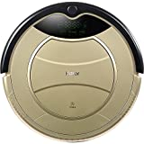 Haier Self Charging Wet Mop Floor Cleaning Robot Vacuum Cleaner with Remote Control (Golden)