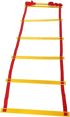 Escalera de velocidad Escalera de Entrenamiento de Agilidad Conjunto de Entrenamiento de Escalera de Coordinación de Trabajo de Alta Intensidad Entrenamiento de Pies Rápido Agilidad Ejercicios Ayuda: Amazon.es: Hogar