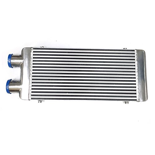 Turbo Intercooler (JSD Front Mount Full Aluminum Polished Turbo Intercooler CAC 31.5