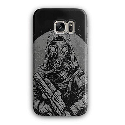 [Masked Terrorist Man Fight Fire NEW Black 3D Samsung Galaxy S7 Case | Wellcoda] (Terrorist Costumes)