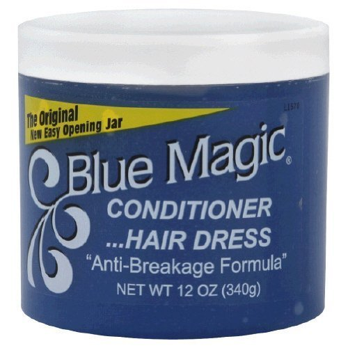 Image result for blue magic hair grease