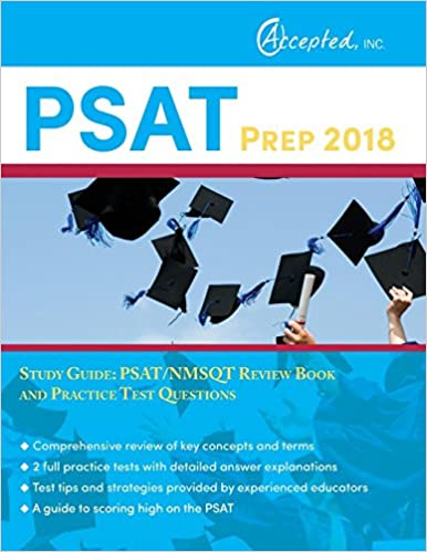 psat prep 2018 study guide psat nmsqt review book and practice test