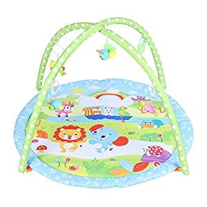 Easy to Carry Round Baby Play Mat Baby Blanket Multi-Function Baby Child