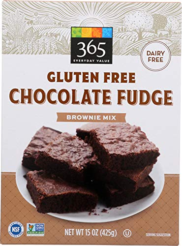 (365 Everyday Value Gluten Free Chocolate Fudge Brownie Mix, 15 oz, 15 oz)