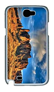 coolest covers desert mountain PC White case/cover for samsung galaxy N7100/2