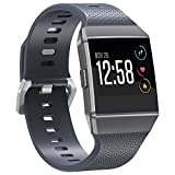 Fitbit Ionic Bands, SnowCinda Adjustable Replacement Sport Strap Wristbands for Fitbit Ionic Smartwatch Large Small