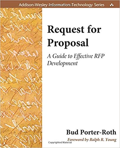 how to write a request for proposal If you think writing a marketing rfp (request for proposal) can be a pain, try  responding to a poorly written one a common reason agencies.