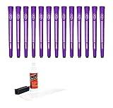 Avon Jumbo de gamuza morado - 13 piezas Golf Kit de agarre (con cinta, socketsp, abrazadera de banco) (