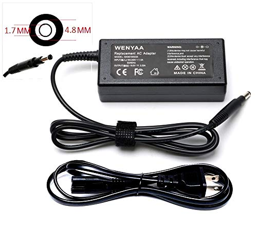 65W 19.5V 3.33A Laptop Charger AC/DC Adapter for HP Pavilion Sleekbook 14-B 15-B Series,14-b109wm 14-b124us 15-b129wm 15-b150us 15-b153cl;HP ENVY 4 6 Series, 4-1043CL 4-1105DX 6-1002TU;P/Ns PPP009D (Laptop Charger 14b109wm Hp)