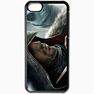 Personalized iPhone 5C Cell phone Case/Cover Skin Assassin S Creed Black