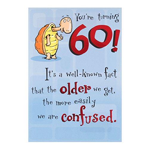 60th birthday cards amazon 60th birthday humour birthday greetings cards bookmarktalkfo Choice Image