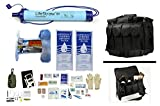 1 Person Supply 1 Day Emergency Bug Out S.O.S. Food Rations, Purified Drinking Water, LifeStraw Personal Filter + Ultimate Arms Gear Duty Gear Bag + Survival First Aid Kit & Multi Tool Set