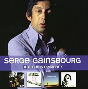Serge gainsbourg 4 original albums 2 music for Gainsbourg vu de l exterieur