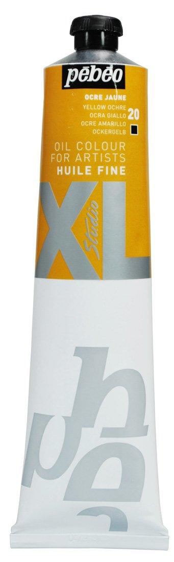 Pebeo - Tubetto di colore a olio XL 200 ml, colore: Giallo ocra 200020
