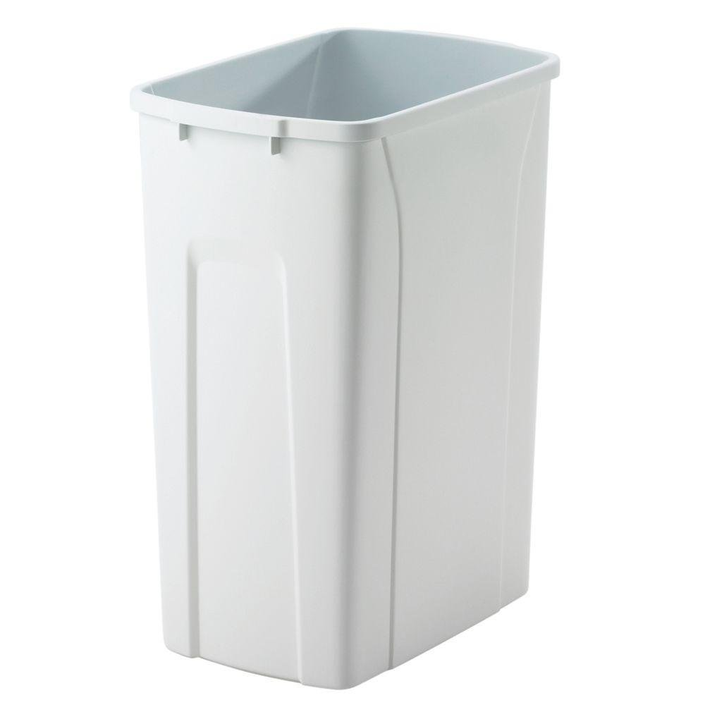 Amazon.com: Trash Pull-Out Replacement Bins Plastic Waste Bins: Home ...