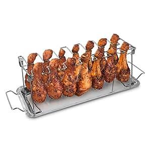 Amazon Com Navaris Stainless Steel Chicken Leg Amp Wing