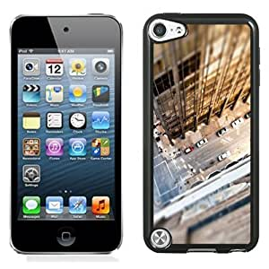 NEW Unique Custom Designed iPod Touch 5 Phone Case With Look Down City Rooftop_Black Phone Case