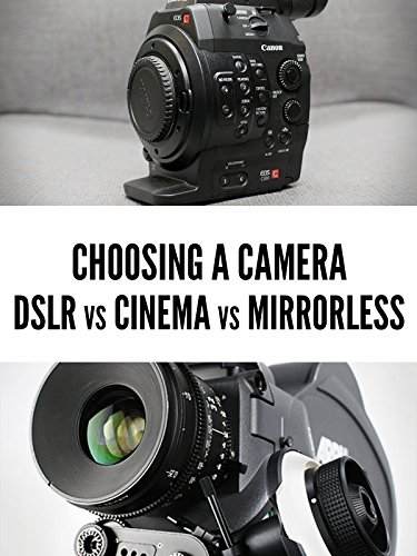 DSLR vs. Mirrorless vs. Cinema Cameras