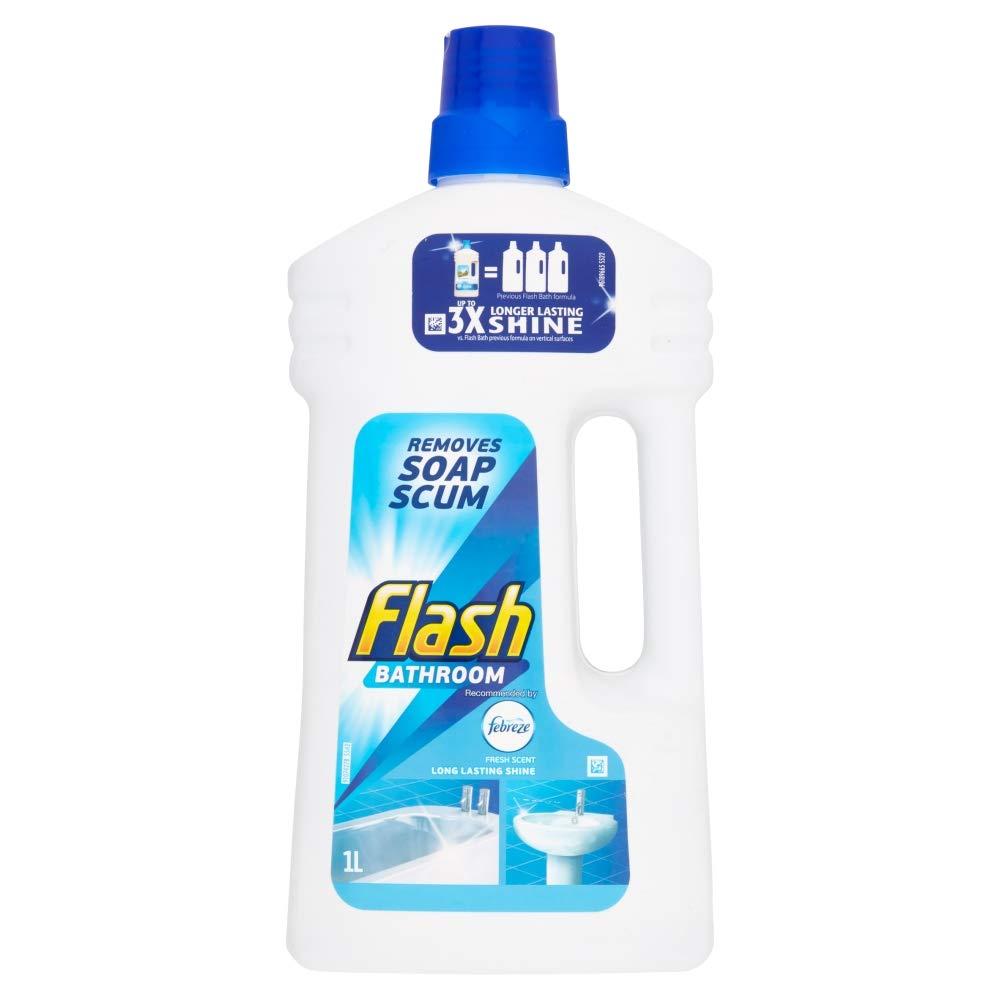 Flash Liquid Bathroom Cleaner, 1 L 81393561