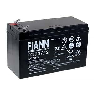 Batería de reemplazo para Fiamm USV APC RBC 12, 12V, Lead-Acid [batería de plomo]