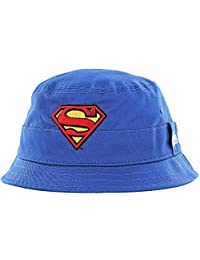 b257c6093dc New Era Superman Character Bucket Hat Child Royal Sonnenhut Kids DC Comics