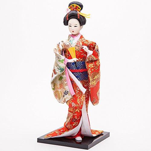 """12"""" Japanese GEISHA Oriental Doll ZS1004-12"""